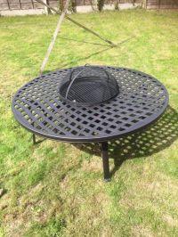 Hartman Ripley New inbox Fire Pit Garden Table Complete ...