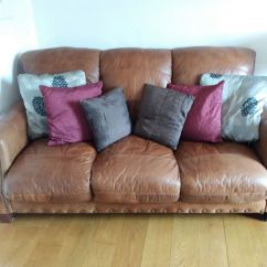 Brown Leather Studded Sofa Low Backless Crossword Clue In Southside Glasgow Gumtree