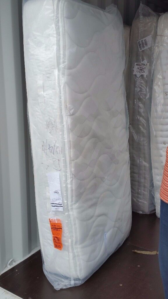 Myers Tetbury 1800 Latex Pillowtop Single 3 Foot Mattress Retails 550 Free Delivery