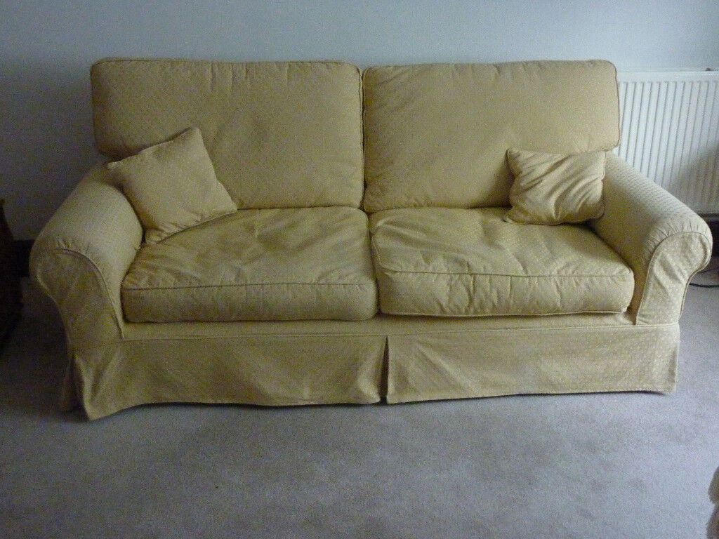 replacement sofa cushions laura ashley settee crossword clue large 39kendal 39 3 seater with removable