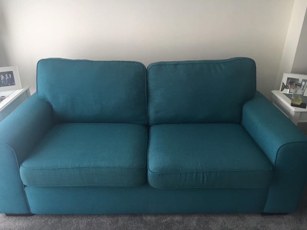 teal sofas gamer sofa dfs pizzazz 2 and 3 seater in sutton london gumtree