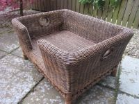 OKA Rattan Mattaban Dog Bed - Medium Size | in Leith ...