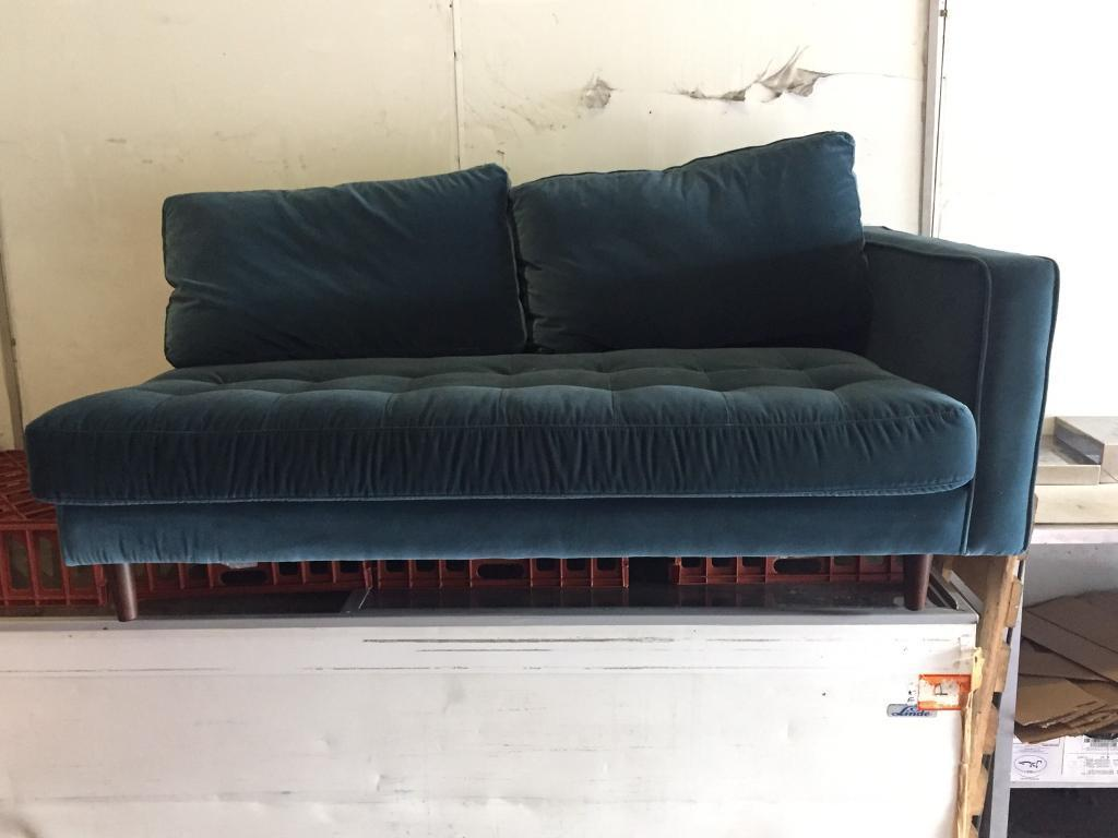 cotton velvet sofa crushed cheap spectacular black tufted