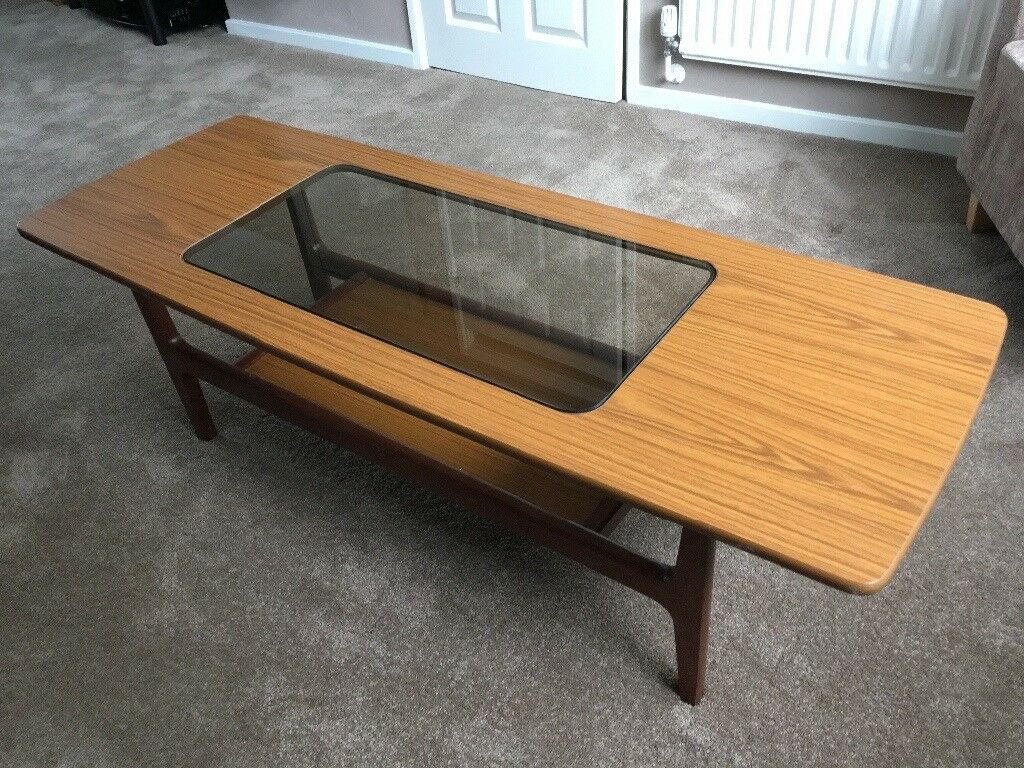 70's style coffee table