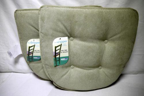 outdoor dining chair cushions set of 4 white styling chairs non slip | ebay