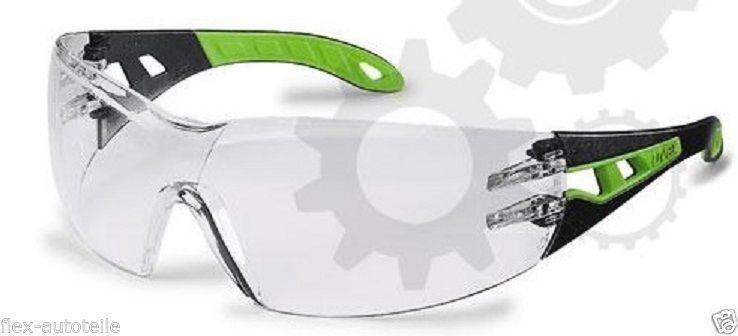 Uvex Pheos 9192 klar Schutzbrille Arbeitsschutzbrille Schleifbrille Kunststoff