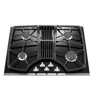 kitchen aid gas cooktop table runners 30 downdraft | ebay