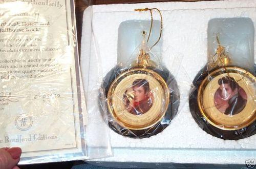 Elvis Ornament Bradford EBay