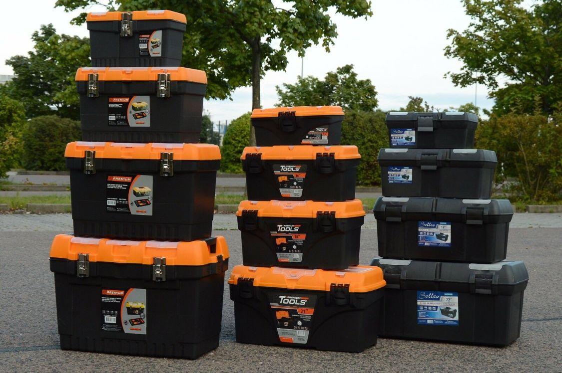 Werkzeugkoffer Leer Werkzeugkasten Werkzeugkiste Werkzeug Box Kunststoff Kiste