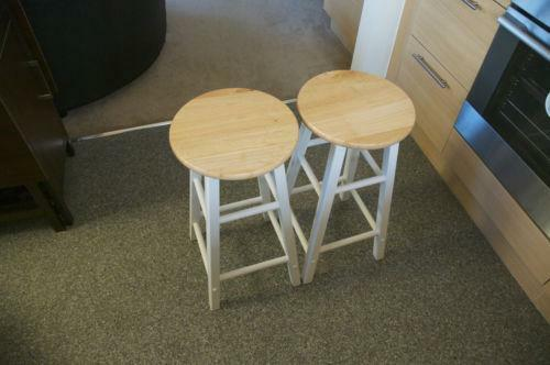 wooden kitchen stools storage cabinet ebay