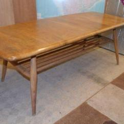 Ercol Windsor Dining Table And Chairs Refurbished Wooden Coffee | Ebay