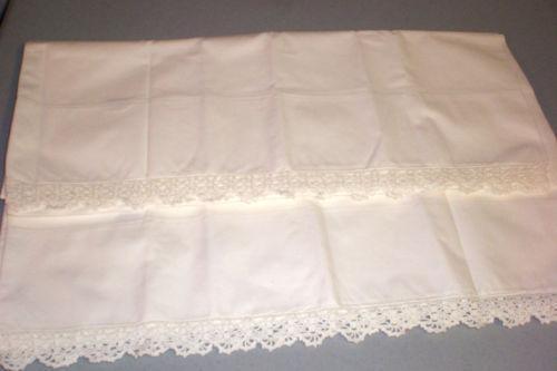 White Lace Sheets  eBay