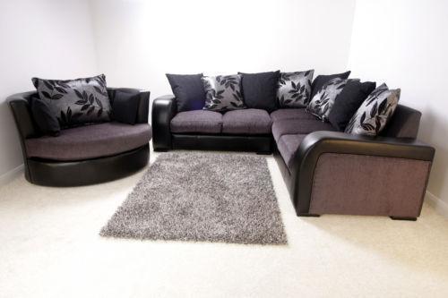 Corner Sofa Cuddle Chair  eBay