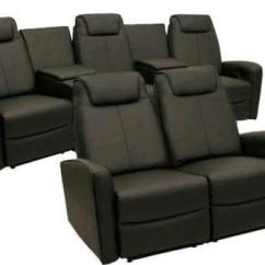 Recliner Club Chair Satin Covers Home Theater Seating Furniture | Ebay