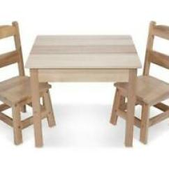 Kids Table With Chairs Ribbon Back Dining And Ebay Wooden