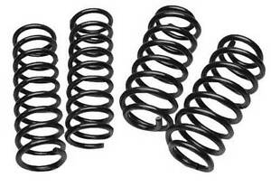 """Jeep Grand Cherokee WJ 2 5"""" Front 2"""" Rear Coil Spring"""