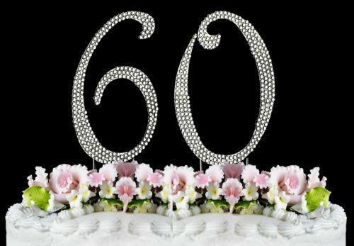 60th Anniversary Cake Topper EBay
