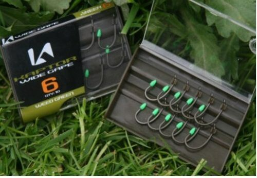 Korda-NEW-Kaptor-Carp-Fishing-Hooks-All-Types-Colours-Sizes-3-99-5-99