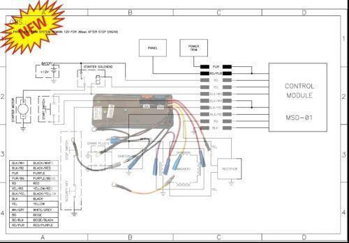 sea doo wiring diagrams