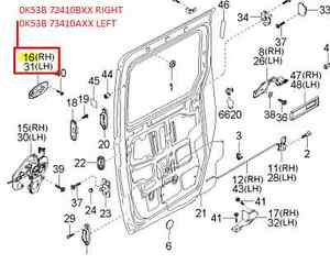 Kia Door Handle, Kia, Free Engine Image For User Manual