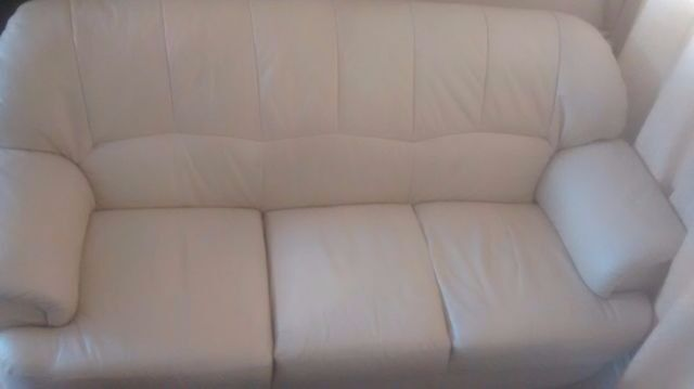 sofa preston docks seda sintetica leather | in preston, lancashire gumtree