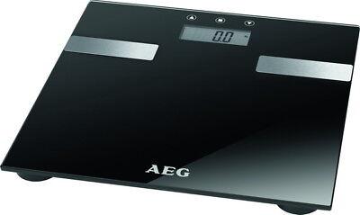 AEG Digitalwaage Körperfett-Waage Körperfettwaage digitale Digital-Glaswaage OVP