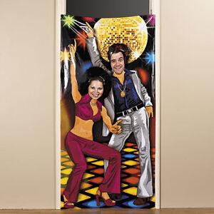 Vinyl Disco 70 039 S Party Prop Photo Door Banner Poster