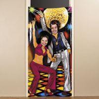 Vinyl Disco 70 039 S Party Prop Photo Door Banner Poster