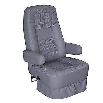 rv captain chair seat covers white wooden rocking nursery ebay