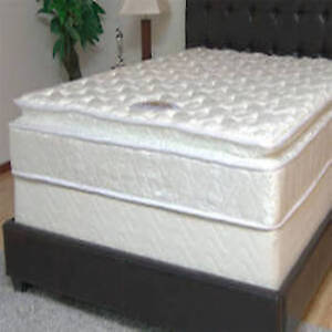 Mattress Plaza Brand New Pillow Top Queen Matt Box Set