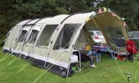 Outwell Bear Lake 6 Polycotton Tent & Front Extension | in ...