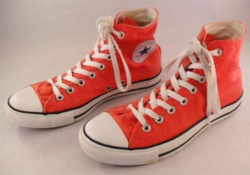 Womens Red High Top Converse  eBay
