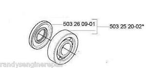 CRANKSHAFT-bearing-HUSQVARNA-570-575-XP-EPA-503252002