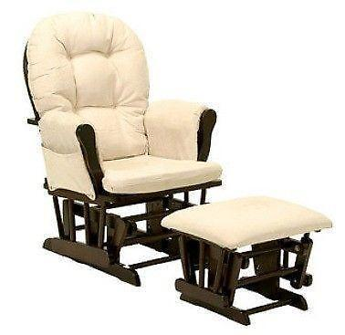chair and ottoman slipcover set herman miller chairs ebay glider cushions |