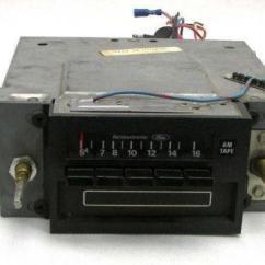 1968 Mustang Wiring Diagram Skin System Ford 8 Track Radio | Ebay