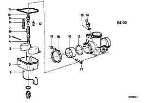Bing Carb Carburetor Float Bowl Gasket Twins R50 R50 R50 5