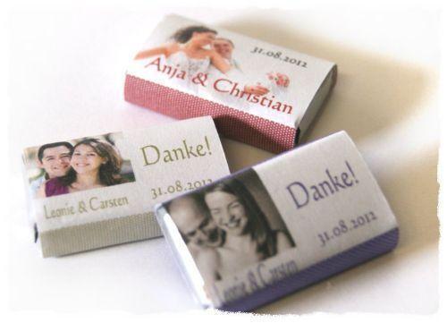 Gastgeschenke Hochzeit Schokolade  eBay