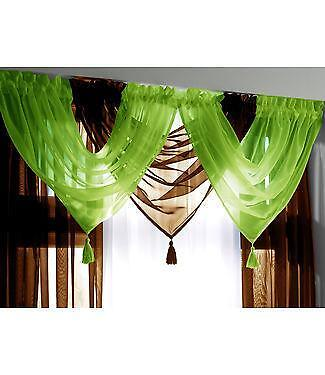 Lime Green Ready Made Curtains EBay