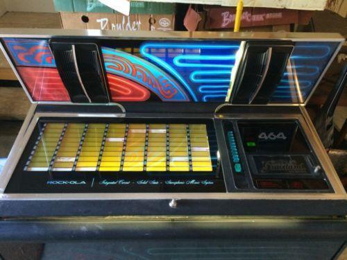 Rock Ola 464 Jukeboxes EBay