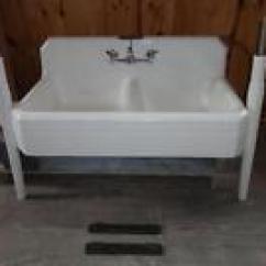 Vintage Kitchen Sink Where To Buy Appliances Antique Farmhouse Sinks Ebay