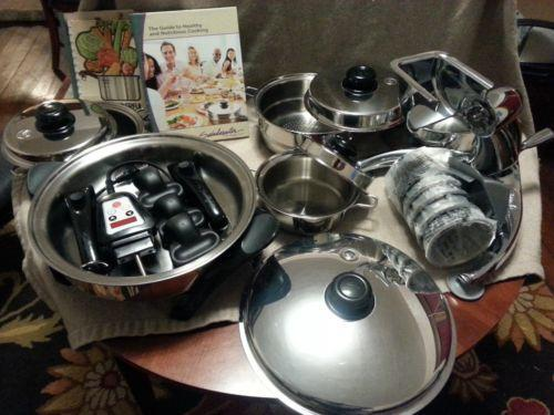 bosch kitchen mixer pottery canisters saladmaster waterless cookware | ebay