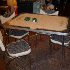 Retro Kitchen Tables Walmart Stools Mid Century Table | Ebay