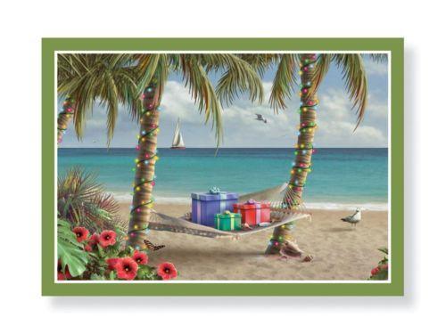 Tropical Christmas Cards EBay