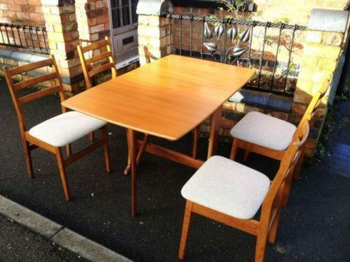 ercol windsor dining table and chairs vinyl fabric for kitchen | ebay