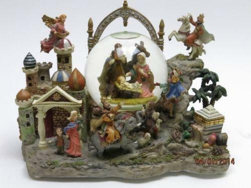 Nativity Snow Globe EBay