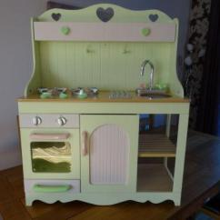 Wooden Play Kitchen Facelift Elc | Ebay