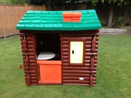 childrens play kitchen countertops little tikes log cabin | ebay