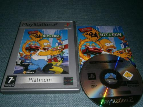 Simpsons Hit And Run PS2 EBay