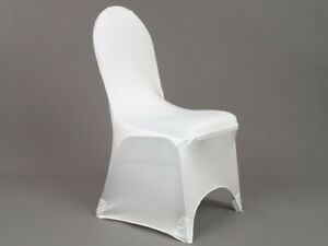 spandex chair covers canada grey suede kijiji in ontario buy sell save with white for rent