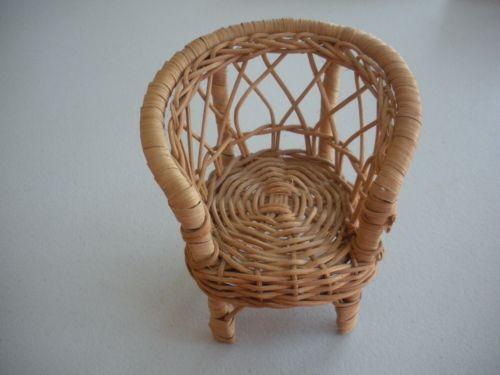 Small Wicker Chair  eBay